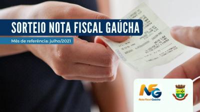 Realizado sorteio de julho do Nota Fiscal Gaúcha