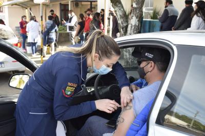 Mais 111 vacinas aplicadas em Faxinal do Soturno