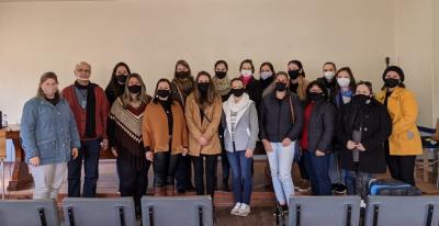 Professores participam de formação do Programa Estamos Juntos