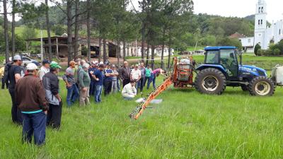 Emater realiza curso de aplicação de agrotóxicos