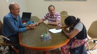 Nova enfermeira toma posse na Prefeitura Municipal de Faxinal do Soturno