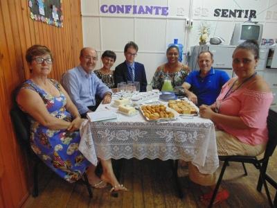 Prefeito Clovis esteve reunido com Conselheiras Tutelares do Município
