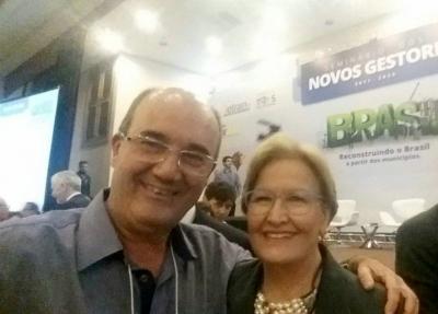 Prefeito Clovis participou do Seminário dos Novos Gestores da FAMURS