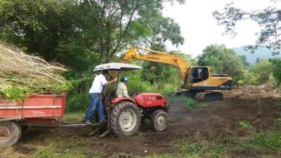 Trabalhos de limpeza e recuperação do Horto Municipal seguem nesta semana