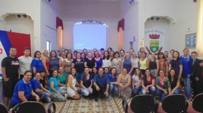 Professores municipais participaram de formação nesta semana
