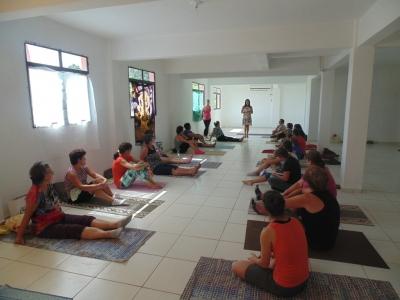 Yogaterapia com duas turmas na cidade e quatro no interior