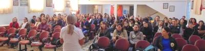 """""""O impacto da violência na formação do sujeito"""" foi tema de palestra"""