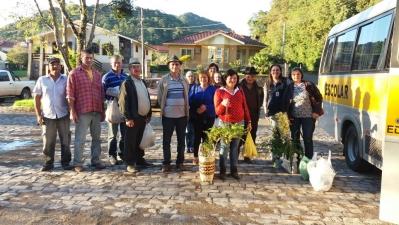 Agricultores participaram de Feira em Agudo