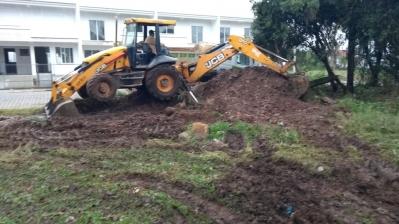 Secretaria realiza melhorias em área verde na cidade