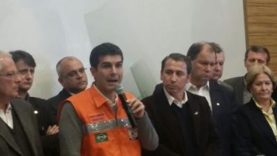 Prefeito Clovis participou de audiências em Porto Alegre