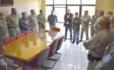 Faxinal recebe curso de formação de Sargentos da Brigada Militar
