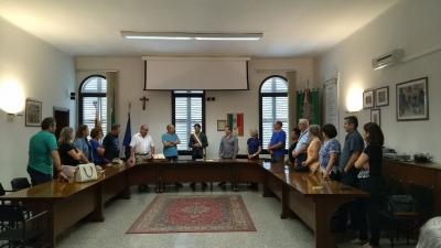 Comitiva busca estreitar laços entre italianos e faxinalenses