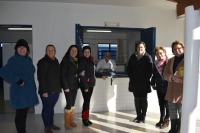Novas conselheiras do CAE visitam escolas
