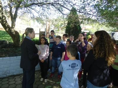 Alunos da Escola Pe. Pedro Coppetti visitaram o Museu de Ufologia