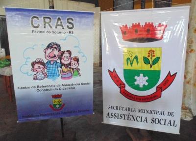 Equipes da Secretaria de Assistência Social e do CRAS realizarão visitas a famílias faxinalenses