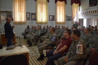Etapa do Curso de de Formação de Sargentos acontece em Faxinal
