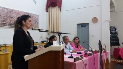 Secretária Greici participa de Sessão Ordinária do Legislativo