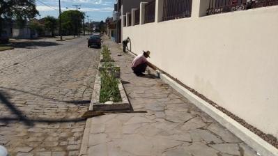Diversas melhorias são realizadas no Cemitério Municipal
