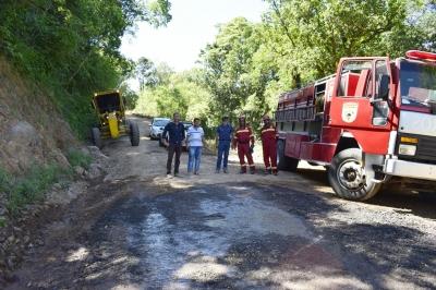 Caminho para a Ermida recebe melhorias