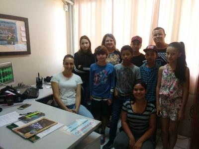 Oficina de radiojornalismo foi realizada na escola Paulo Freire