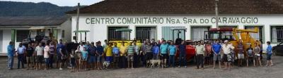 Comunidade do Sítio Alto recebe equipamentos da Patrulha Agrícola