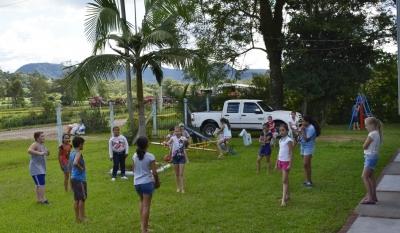 Perto de 500 alunos voltam às aulas na rede municipal de Faxinal do Soturno