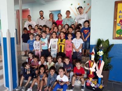 Projeto Ciranda recebeu ontem a primeira turma da Hora Atividade