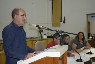 Prefeito Clovis participou da Sessão da Câmara