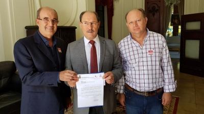 Prefeito Clovis cumpriu agendas em Porto Alegre