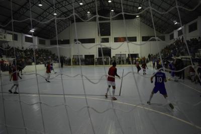 Reunião para definir o Campeonato Municipal de Futsal