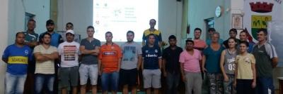 Reunião definiu chaves e regulamento do Campeonato Municipal de Futsal
