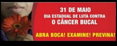 Maio Vermelho - Mês de luta contra o câncer bucal