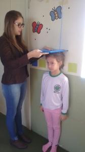 Ações do PSE são desenvolvidas na Escola Adelina Zanchi