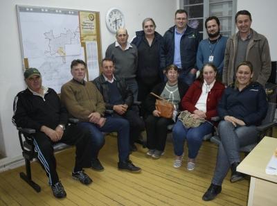 Reunião para definir a 4ª Olimpíada Rural Municipal