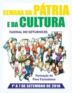Semana da Pátria e da Cultura acontece de 1º a 7 de setembro