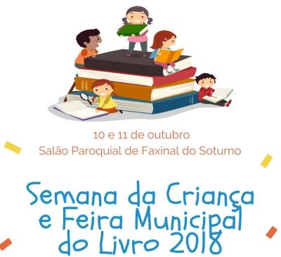 Semana da Criança e Feira Municipal do Livro 2018