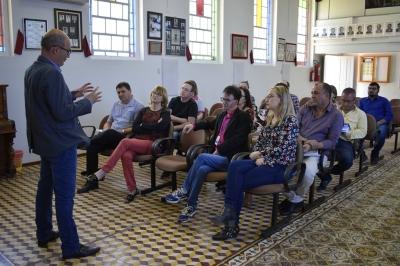 Faxinal do Soturno sediou reunião de gestores de cultura e turismo da AMCENTRO