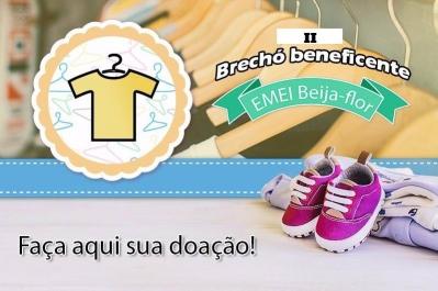 EMEI Beija-Flor realizará mais uma edição do brechó beneficente