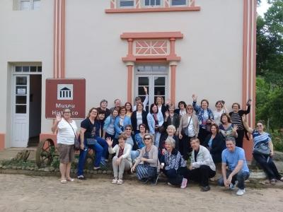 Turistas de Tapera visitaram o Museu Geringonça