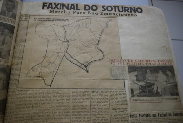 Recortes sobre a emancipação de Faxinal do Soturno