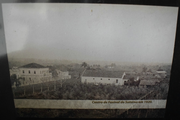 Centro de Faxinal do Soturno em 1920