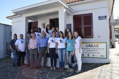 Administração Municipal inaugura o CREAS