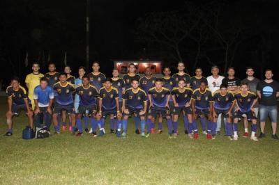 Seleção de Faxinal é vice-campeã do 50º Interseleções de Futebol de Campo
